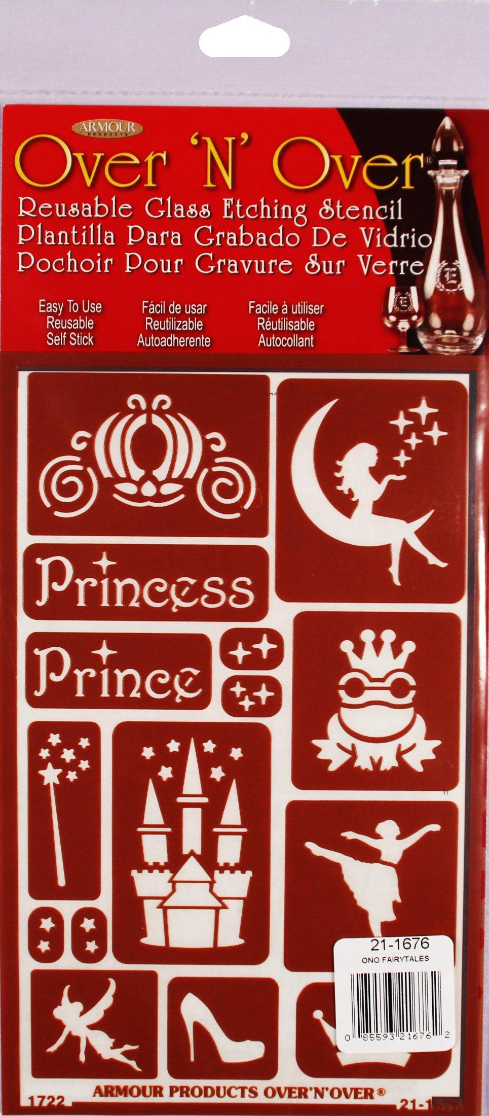 Armour 21-1676 Stencil Fairytales Crafts Supplies