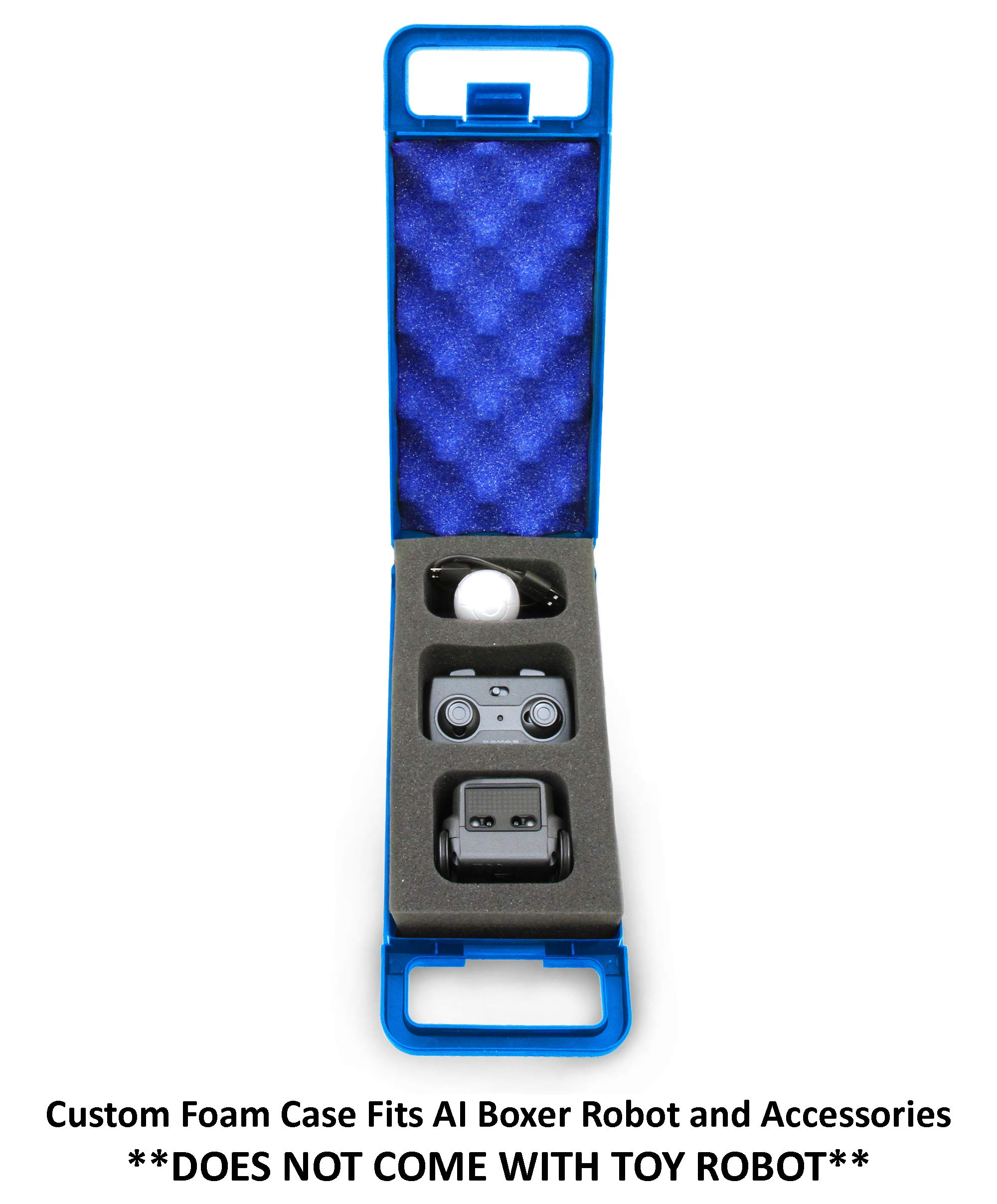 CASEMATIX Blue Toy Case Compatible with Boxer Robot and Boxer AI Interactive Toy Accessories - Includes CASE ONLY by CASEMATIX (Image #4)