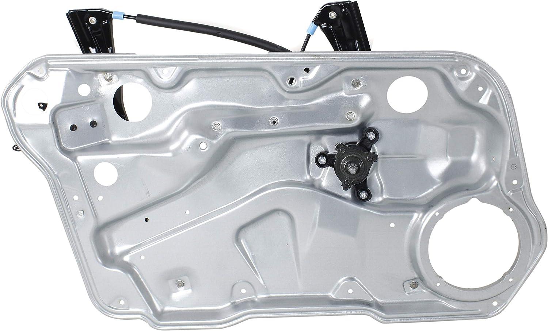 Window Regulator for Volkswagen Golf//GTI 99-06 Jetta 99-05 Front LH Manual W//Panel 4-Door