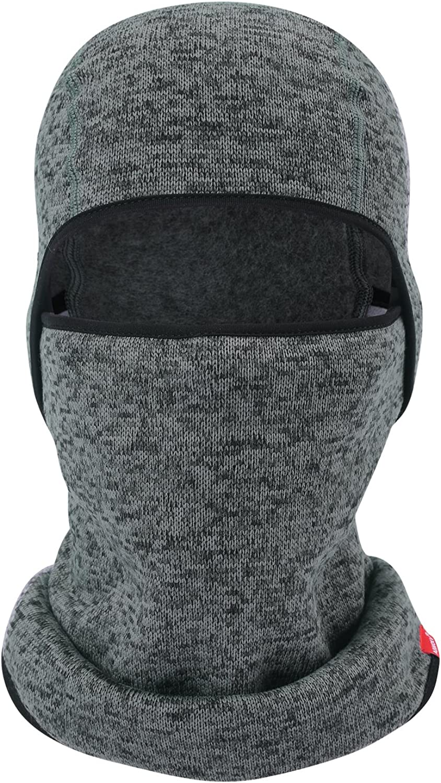 Balaclava-Ski Mask Knit Thicken Winter Warmer Windproof Cold Weather Face Mask