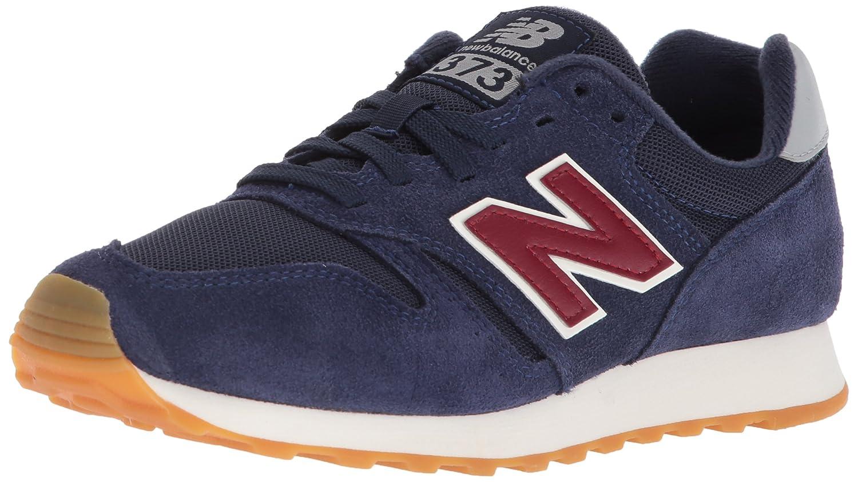 New Balance Men's 373V1 Sneaker B071SFWFLS 11 2E US|Navy/Red