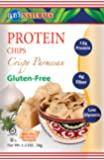 Kay's Naturals Protein Chips, Crispy Parmesan, 1.2 ounces (Pack of 6)