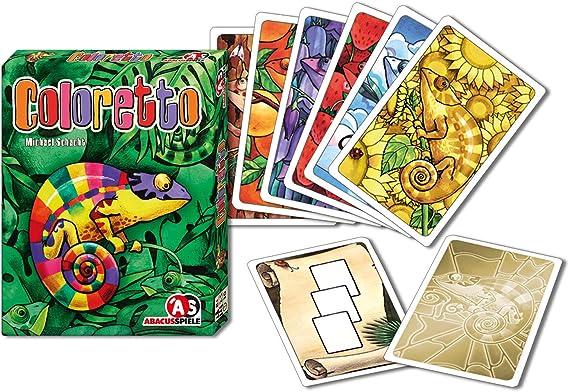 ABACUSSPIELE ABA08132 Juego de Cartas Juego de emparejar Cartas - Juegos de Cartas (8 año(s), Juego de emparejar Cartas, 30 min, 96 mm, 20 mm, 123 mm): Amazon.es: Juguetes y juegos
