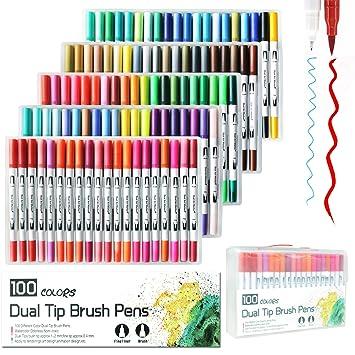 Amazoncojp Litchi 水性ペン 蛍光ペン カラーペン 水彩ペン マーカー