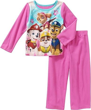 NEW Girls Nickelodeon PAW PATROL 2 Cotton Pajama Sleepwear Sets Pink  3T 4T $40