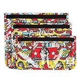 Bumkins DC Comics Clear Travel Bag 3 Pack, Wonder Woman