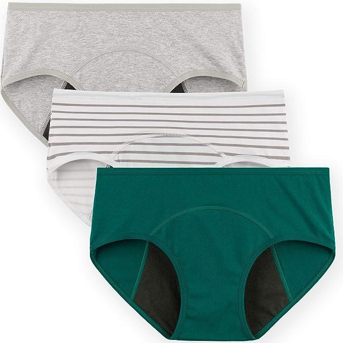 INNERSY - Calzoncillos Tipo Slip para Mujer, de algodón, Suaves ...