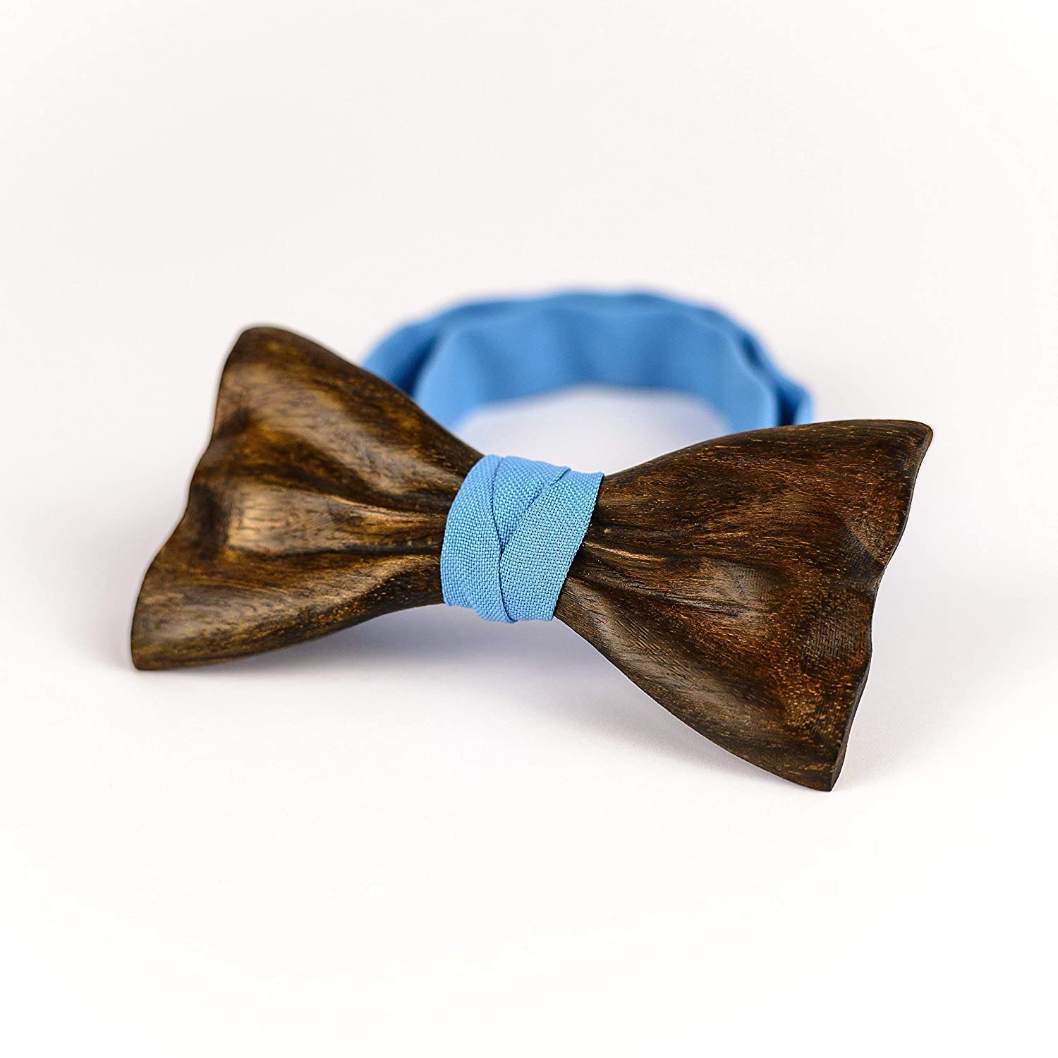 Wooden Bow Tie Men Wedding Party Wood Bowtie Groomsmen Gift Handmade Necktie