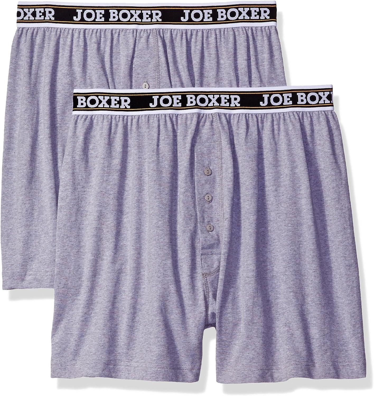 Joe Boxer Mens Loose 2 Pack Boxer