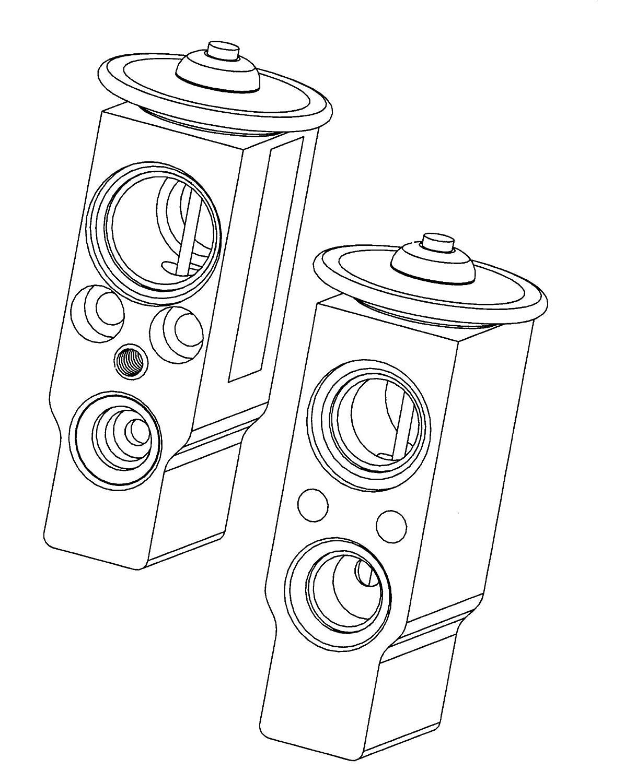 Climatizzatore Nrf 38374 Valvola ad espansione