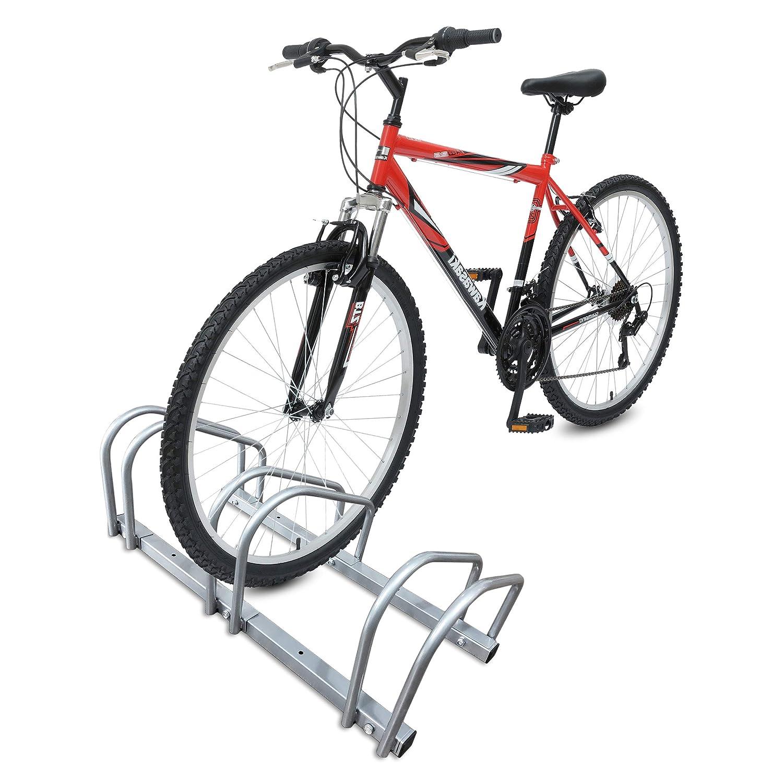 Syst/ème Range v/élo Support de Rangement v/élo Jardin ou Garage Rangement pour v/élo R/âtelier v/élo| Range v/élo R/âtelier Familial/ en Acier revetu Support pour Bicyclette Sol ou Mural