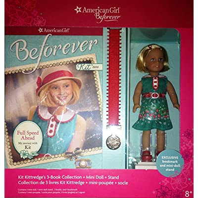 American Girl Doll Beforever Kit Kittredge Mini Doll & 3 book Collection: Toys & Games