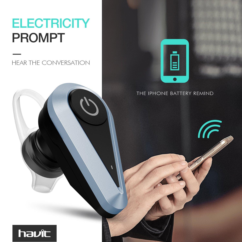 HAVIT Bluetooth 4.1 Headset, Bluetooth Wireless...