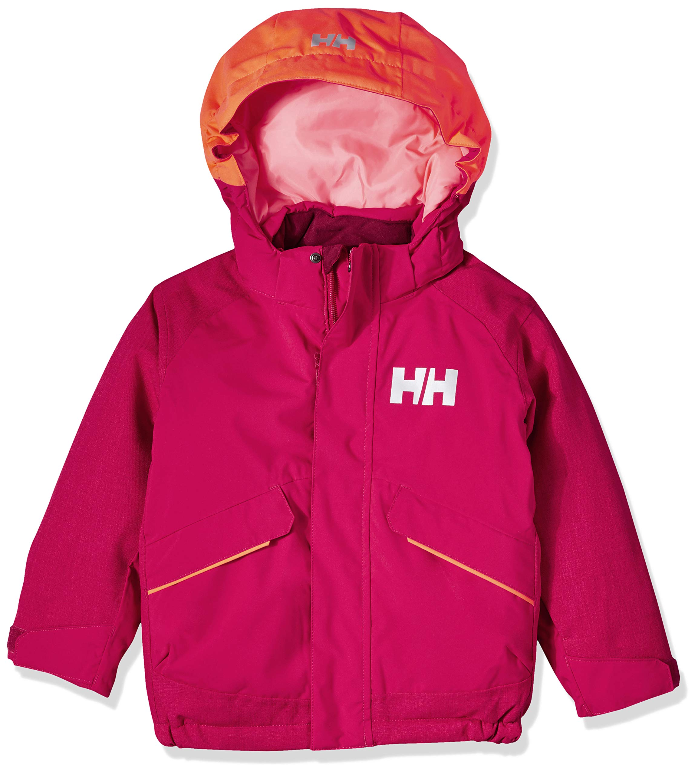 Helly Hansen K Waterproof Snowfall Insulated Jacket, Persian Red, Size 6