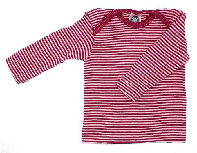 Cosilana Camiseta Interior de Manga Larga para beb/é 30/% Seda 70/% Lana
