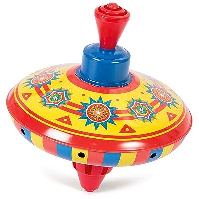 Schylling MTA Mini Tin Top: Toys & Games