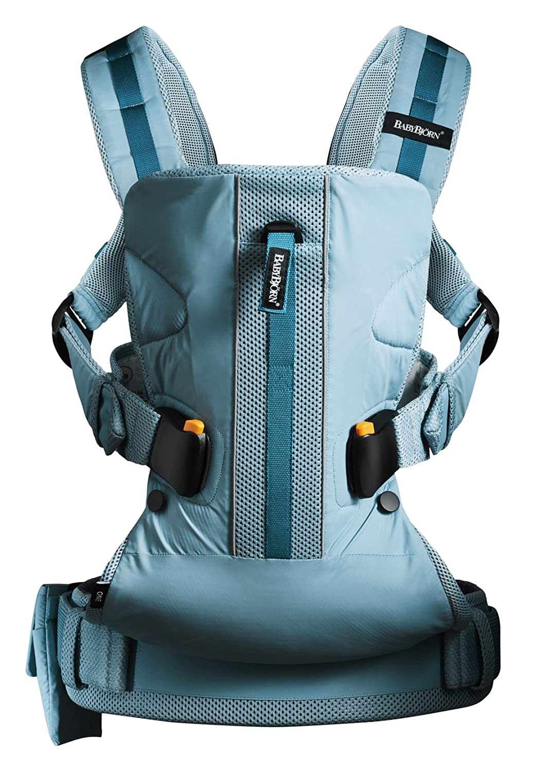 b9c15638272 BABYBJORN Baby Carrier One Outdoors - Turquoise  Amazon.ca  Baby