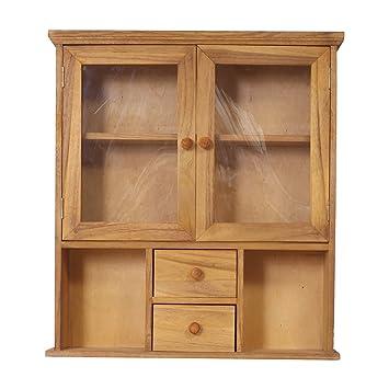 Kleine becherboard Hängeschrank Plexiglas, zum Aufhängen, Holz ...