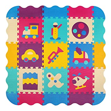 Amazon Baby Play Mat With Fence Meiqicool Thick 04