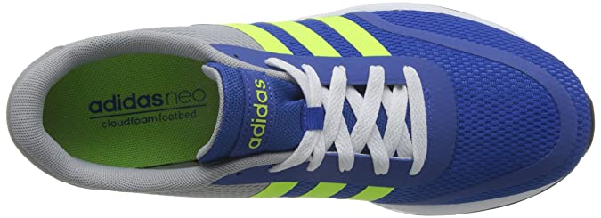 new concept 521a7 d24e0 adidas Men s V Racer TM II Tape Trainers Multicolour Size  8.5   Amazon.co.uk  Shoes   Bags