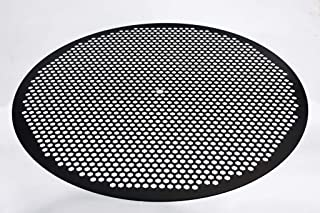 product image for LloydPans 16 inch, Pre-Seasoned PSTK Hex Pizza Disk, Dark Gray