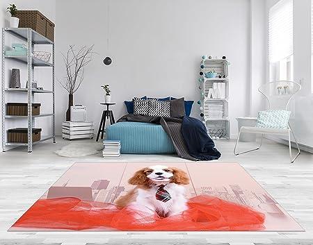 Fußboden Ohne Pvc ~ Forwall pvc vinyl fussboden fußboden boden teppich matte hund