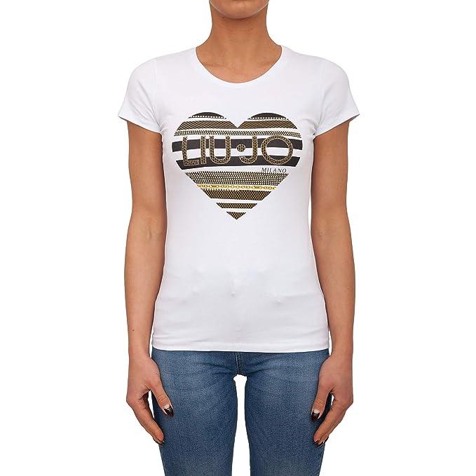 info for af3ce 50c11 Liu-Jo W19422J9944 T-Shirt Donna: Amazon.it: Abbigliamento