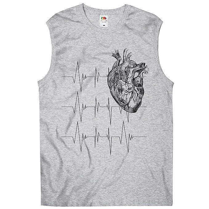 TEE-Shirt Té de camiseta, Men - Camiseta Corazón de anatomía: Amazon ...
