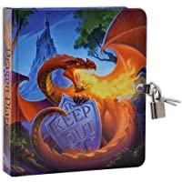 MOLLYBEE KIDS Keep Out Dragon Diary for Kids