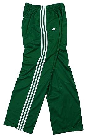 Amazon.com: Adidas Mens 3-stripe Athletic Track Pants (Large ...