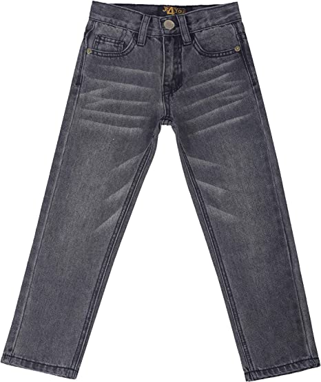 Next Boys Dark Blue Regular Jeans Adjustable Waist 3 4 Years