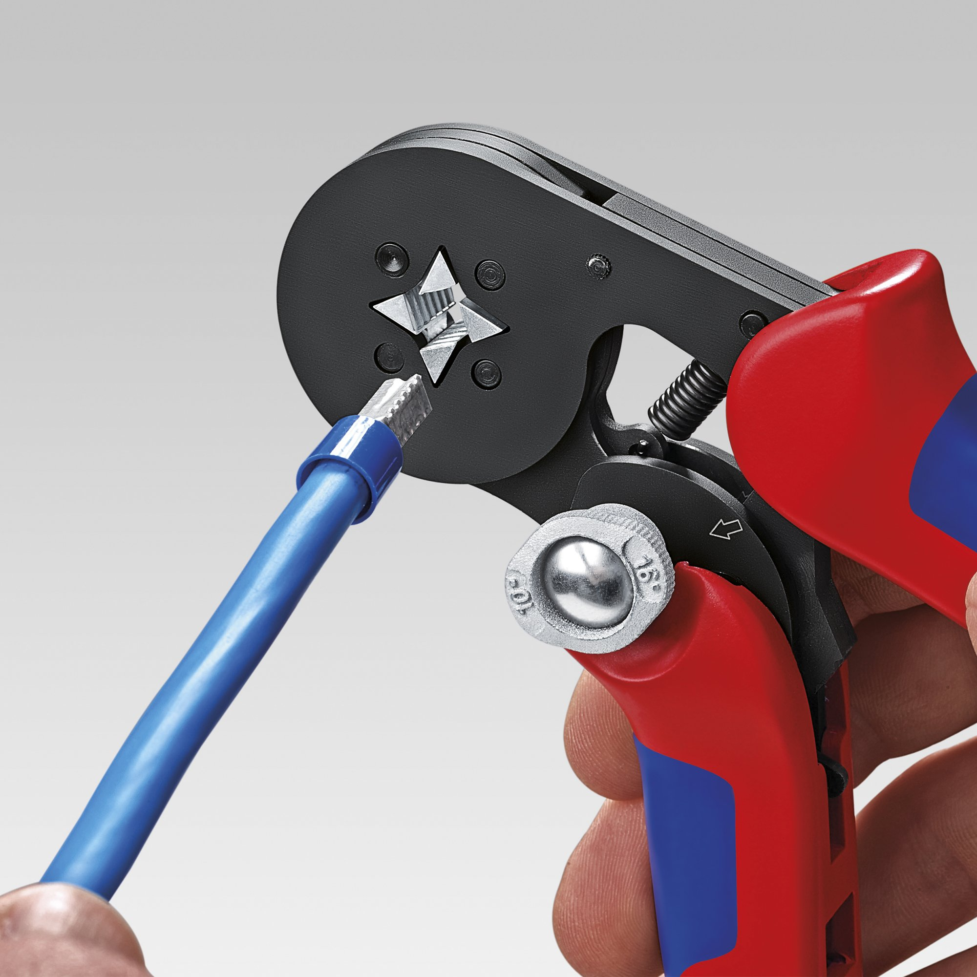 KNIPEX 97 53 04 Self-Adjusting Crimping Pliers