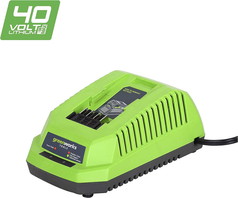 Greenworks Tools 2904607Cargador VDE 40V