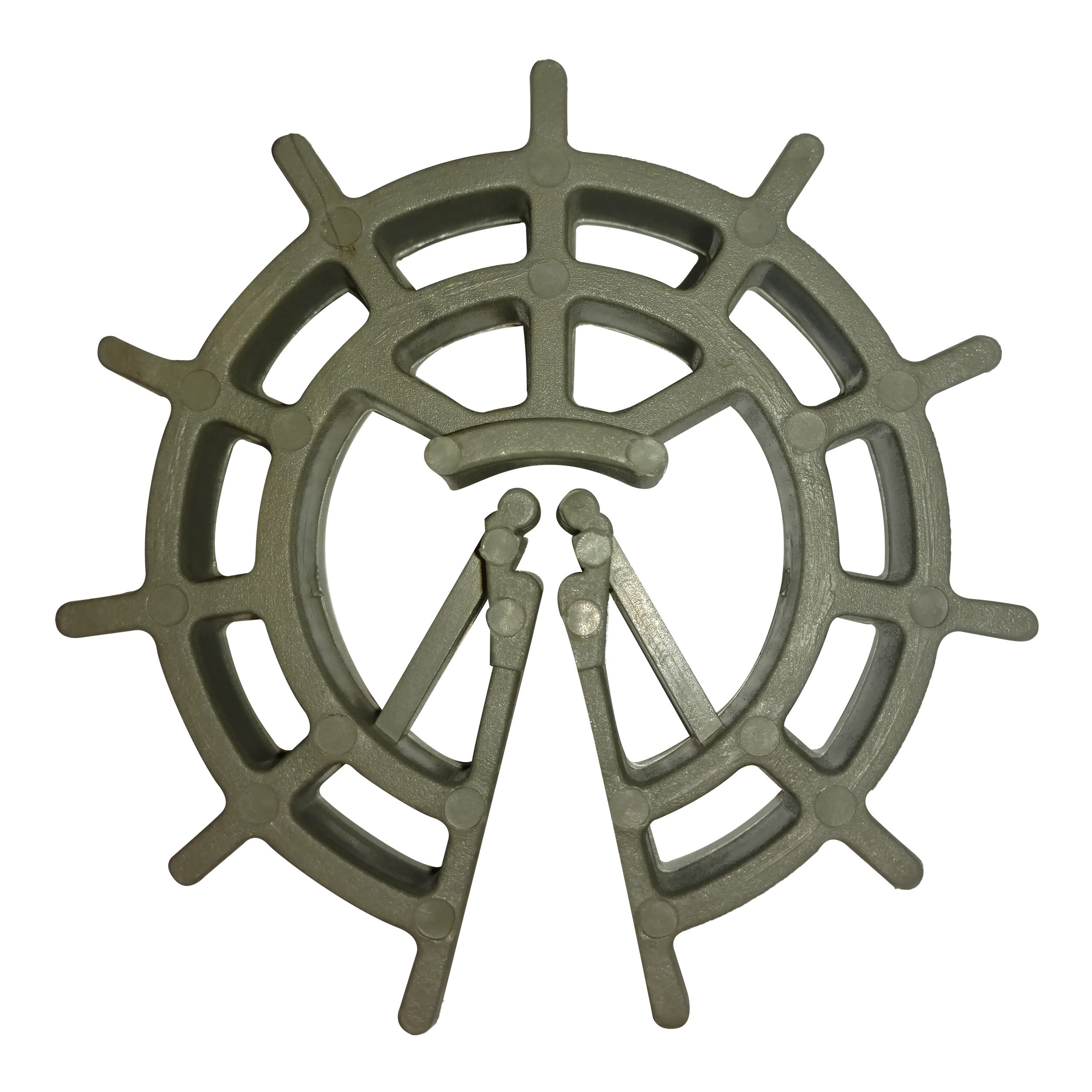 1-1/2'' Rebar/Rerod/Wire Mesh Plastic Spacer Wheel - #3, #4 Bar - 1,000 Ct.