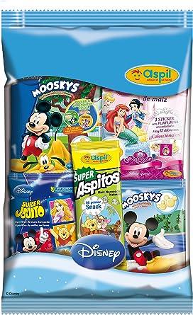 Aspil - Pack Disney - Bolsa con aperitivos - 70 g: Amazon.es ...