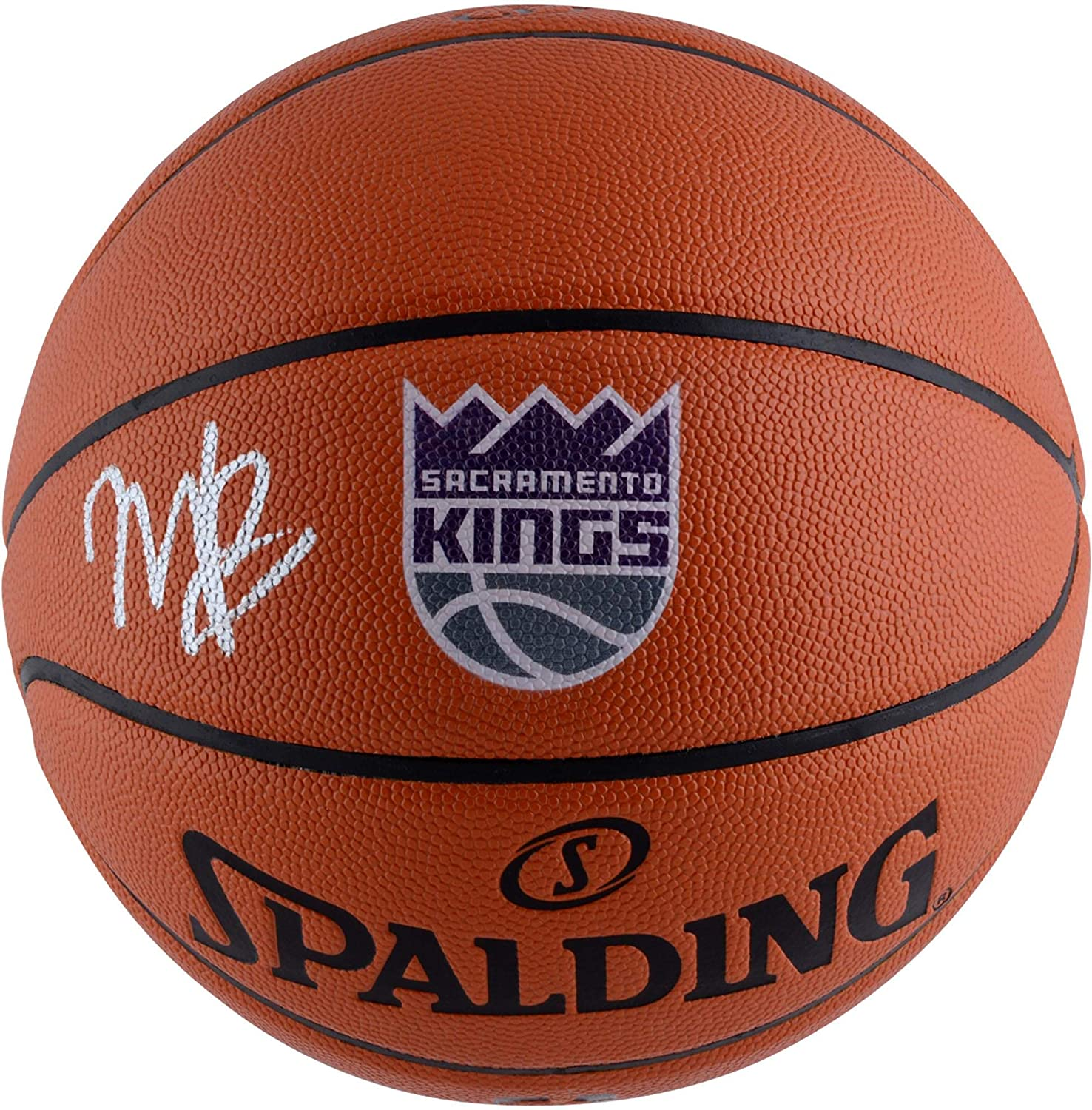 Marvin Bagley III Sacramento Kings Autographed Spalding Logo Basketball - Fanatics Authentic Certified