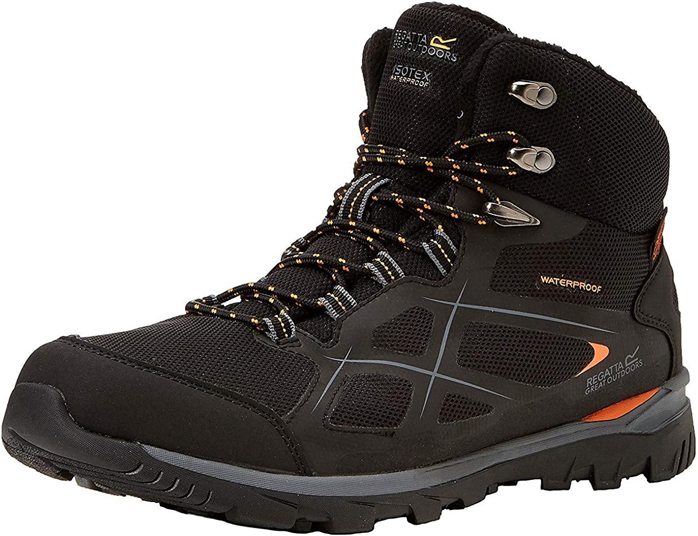 Regatta Mens Kota Mid Lightweight EVA Footbed Waterproof Walking Boots
