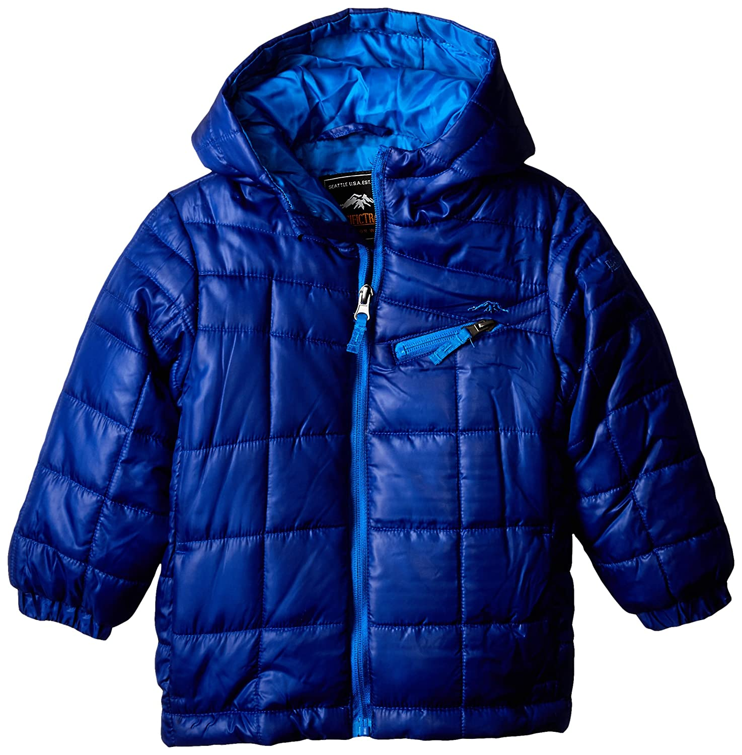 Pacific Trail Boys Quilted Lightweight Puffer Coat Pacific Trail Boys 2-7 2F53681