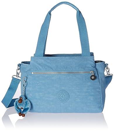 87eca7d79f Buy Kipling Elysia Solid Convertible Crossbody Bag, Blue/Grey Online at Low  Prices in India - Amazon.in