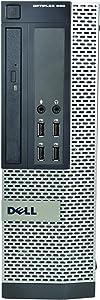 Dell OptiPlex 990 SFF, Intel Core i7-2600 3.4GHz, 16GB RAM, 2TB Hard Drive, DVDRW, Windows 10 Pro 64bit (Renewed)