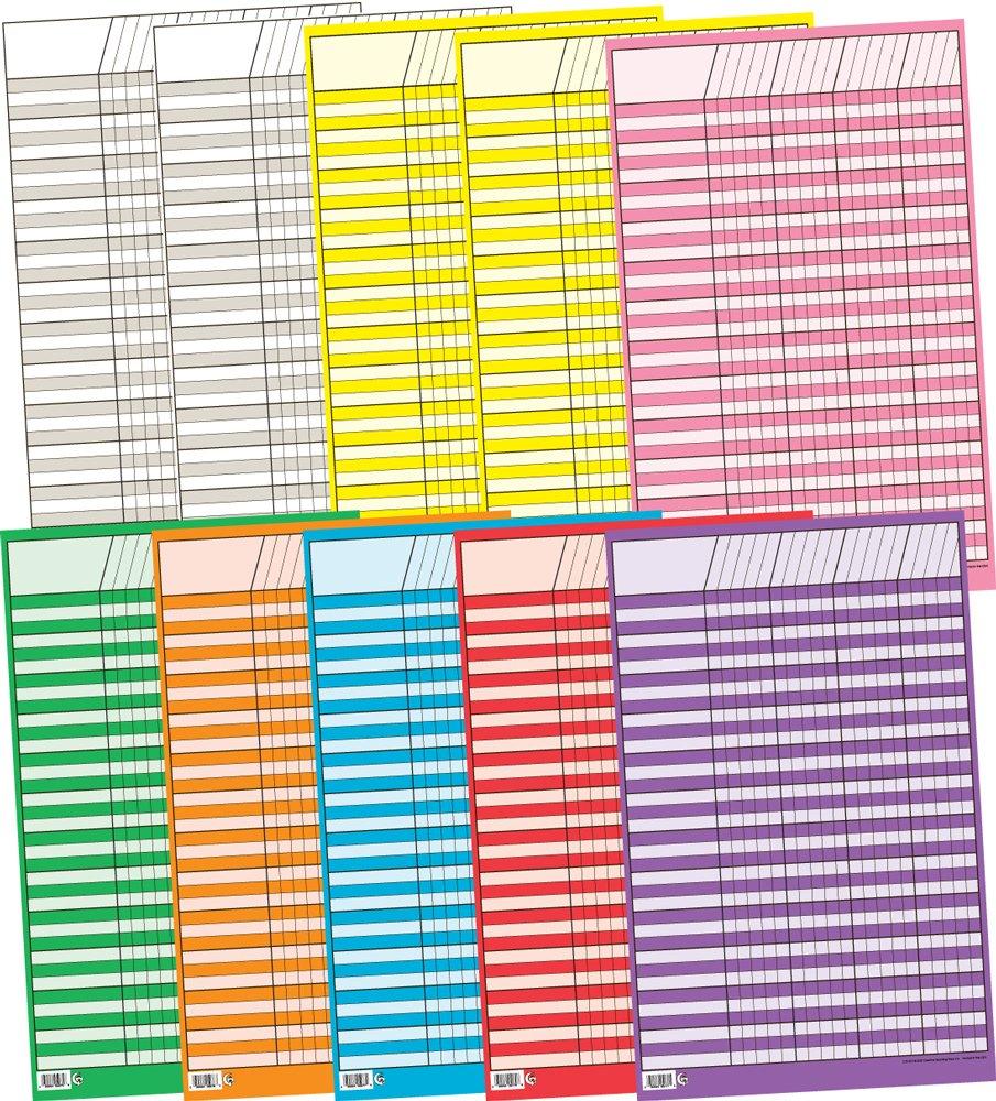 Creative Teaching Press Small Vertical Incentive Charts Variety Pack (5169) by Creative Teaching Press (Image #1)