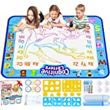 Jasonwell Aqua Magic Doodle Mat 40 X 32 Inches Extra Large Water Drawing Doodling Mat Coloring Mat Educational Toys…