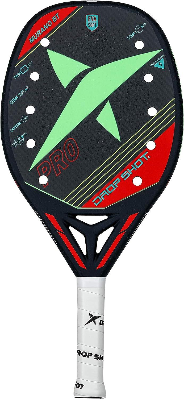 DROP SHOT Pala de pádel Modelo Murano Beach Tennis-Colección Oficial 2019