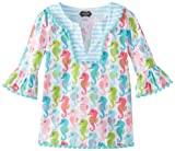 Mud Pie Baby Girls' Seahorse Tunic, Multi, 9 12 Months