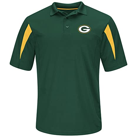 d3f76746b Image Unavailable. Image not available for. Color  Profile Big   Tall NFL  Green Bay Packers Adult Men NFL Plus S Synthetic Polo