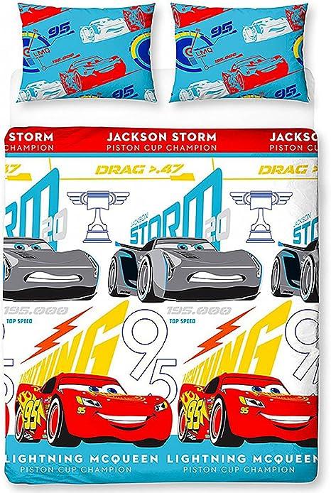 Copripiumino Cars Una Piazza E Mezza.Disney Copripiumino 1 Piazza E Mezza Cars 3 Reversibile Amazon It