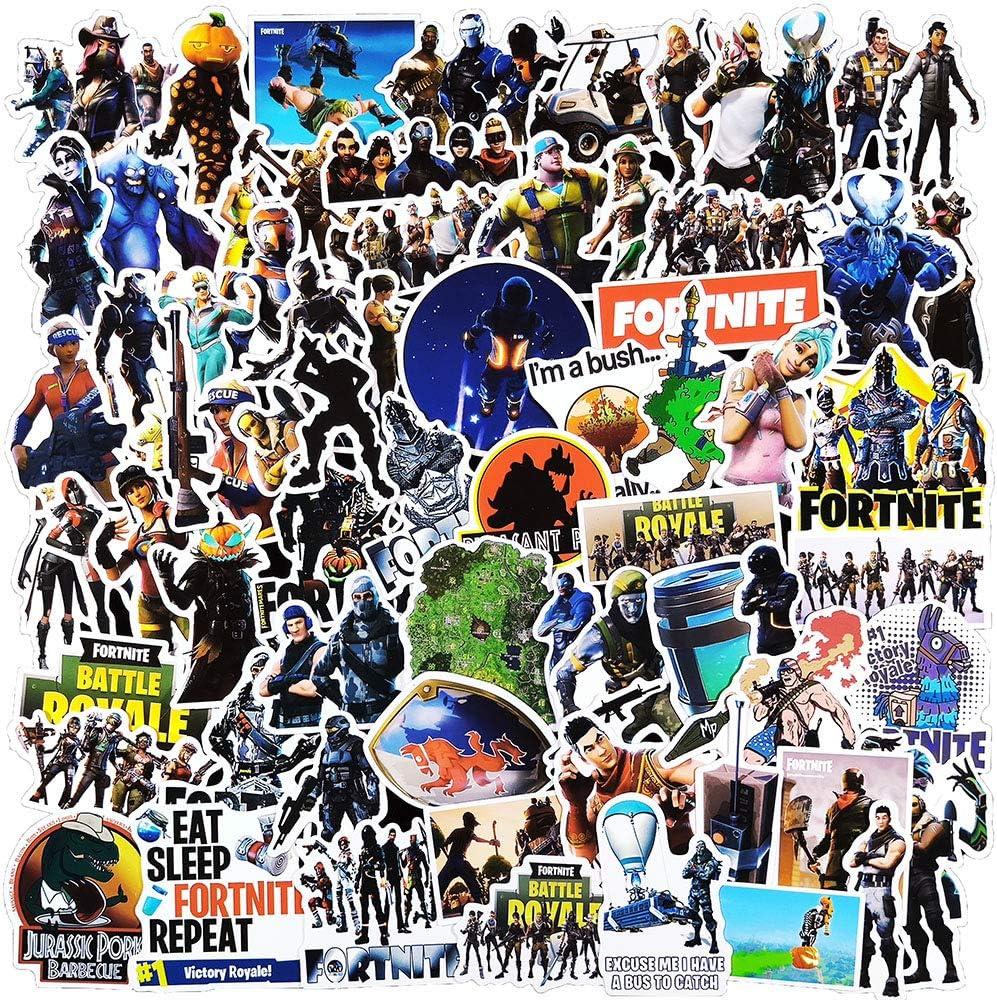 150 Pcs Pupular Aesthetic Stickers Pack for Fortnite,Stickers for Girls Kids Teens Boys,Trendy Waterproof Vinyl Stickers Pack for Water Bottle Laptop Motorcycle Phone Guitar MacBook Flasks Computer.