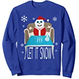 Cocaine Santa let it snow christmas sweater Sweatshirt