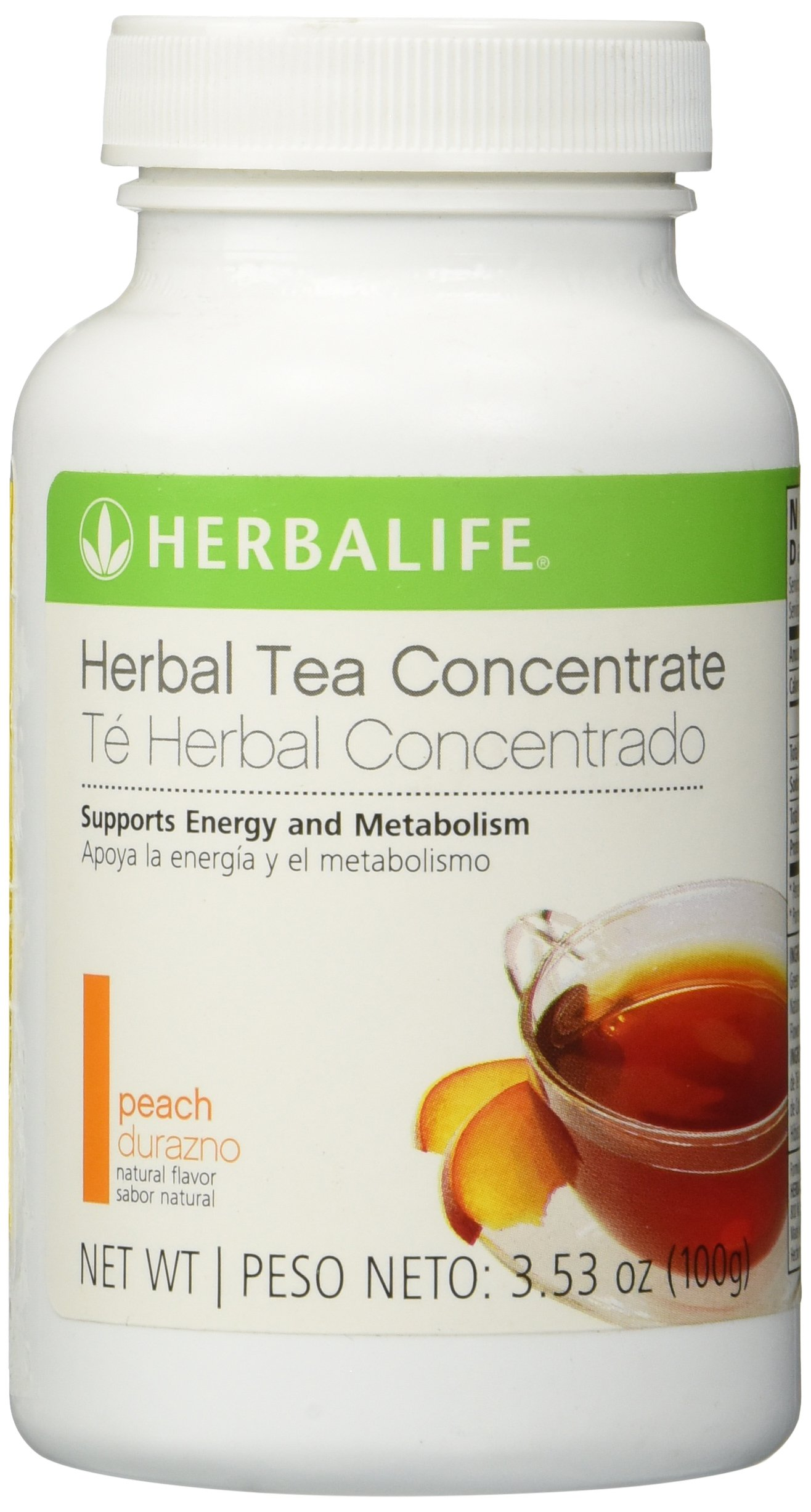 Herbalife, Herbal Concentrate Tea, Peach, 3.53 oz (100 g) by Shapeworks