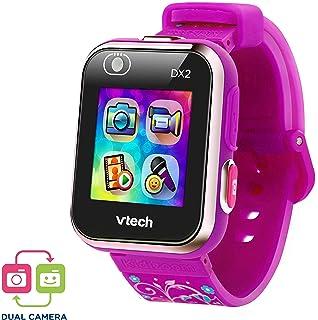 VTech Kidizoom Smart Watch DX2 - Reloj inteligente para niños con doble cámara, color morado